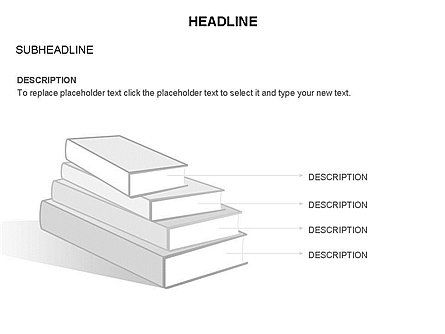 Books Toolbox, Slide 12, 03283, Shapes — PoweredTemplate.com