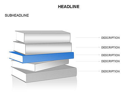 Books Toolbox, Slide 15, 03283, Shapes — PoweredTemplate.com