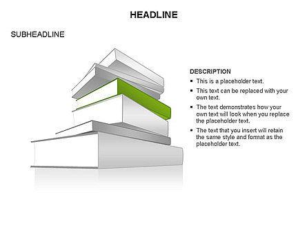 Books Toolbox, Slide 16, 03283, Shapes — PoweredTemplate.com