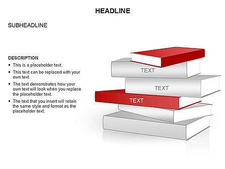Books Toolbox, Slide 19, 03283, Shapes — PoweredTemplate.com