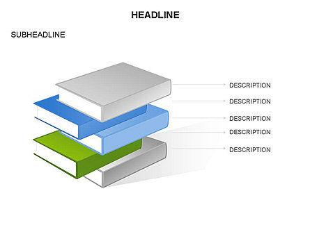 Books Toolbox, Slide 20, 03283, Shapes — PoweredTemplate.com