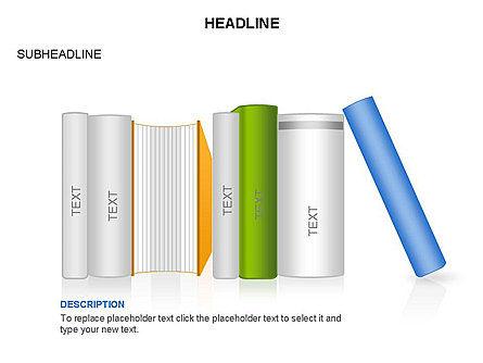 Books Toolbox, Slide 21, 03283, Shapes — PoweredTemplate.com
