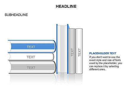 Books Toolbox, Slide 22, 03283, Shapes — PoweredTemplate.com