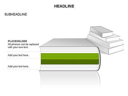 Books Toolbox, Slide 23, 03283, Shapes — PoweredTemplate.com