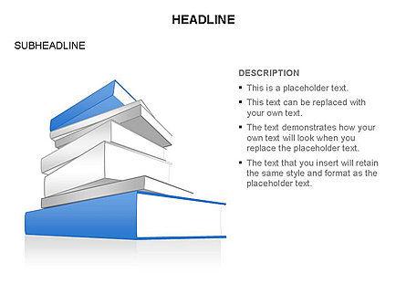 Books Toolbox, Slide 28, 03283, Shapes — PoweredTemplate.com
