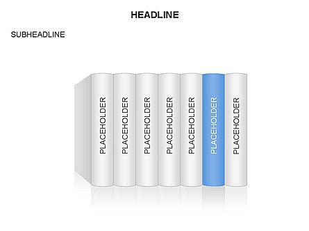 Books Toolbox, Slide 5, 03283, Shapes — PoweredTemplate.com