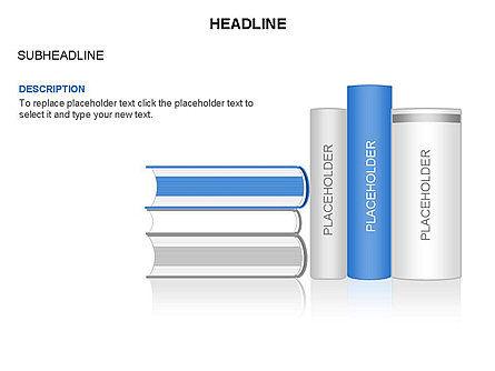 Books Toolbox, Slide 7, 03283, Shapes — PoweredTemplate.com