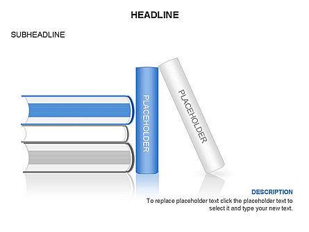 Books Toolbox, Slide 9, 03283, Shapes — PoweredTemplate.com