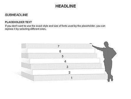 Stair Toolbox, Slide 13, 03284, Stage Diagrams — PoweredTemplate.com