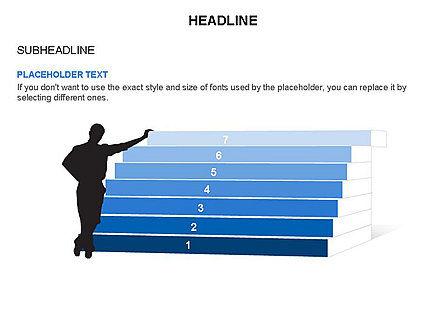 Stair Toolbox, Slide 14, 03284, Stage Diagrams — PoweredTemplate.com