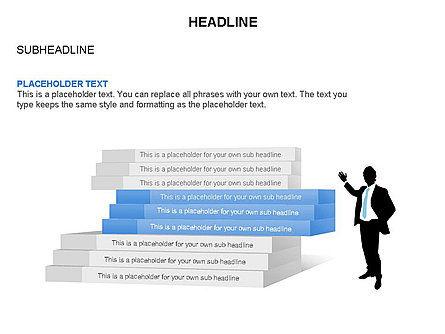 Stair Toolbox, Slide 19, 03284, Stage Diagrams — PoweredTemplate.com