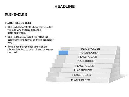 Stair Toolbox, Slide 5, 03284, Stage Diagrams — PoweredTemplate.com