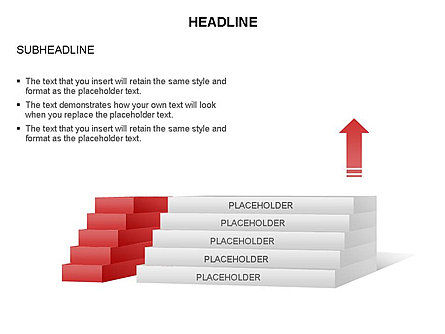 Stair Toolbox, Slide 6, 03284, Stage Diagrams — PoweredTemplate.com