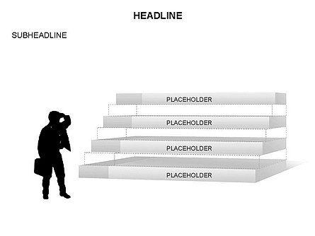 Stair Toolbox, Slide 9, 03284, Stage Diagrams — PoweredTemplate.com