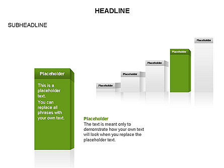 Step by Step Toolbox, Slide 40, 03286, Stage Diagrams — PoweredTemplate.com