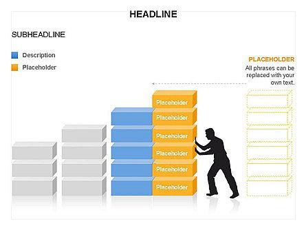 Blocks Toolbox, Slide 15, 03287, Stage Diagrams — PoweredTemplate.com