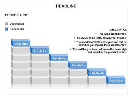 Blocks Toolbox, Slide 17, 03287, Stage Diagrams — PoweredTemplate.com