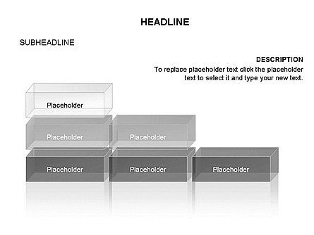 Blocks Toolbox, Slide 20, 03287, Stage Diagrams — PoweredTemplate.com