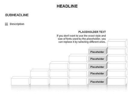 Blocks Toolbox, Slide 21, 03287, Stage Diagrams — PoweredTemplate.com