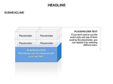 Blocks Toolbox, Slide 24, 03287, Stage Diagrams — PoweredTemplate.com