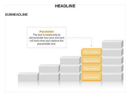 Blocks Toolbox, Slide 6, 03287, Stage Diagrams — PoweredTemplate.com