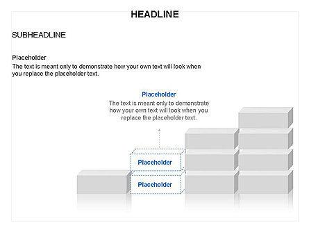 Blocks Toolbox, Slide 8, 03287, Stage Diagrams — PoweredTemplate.com