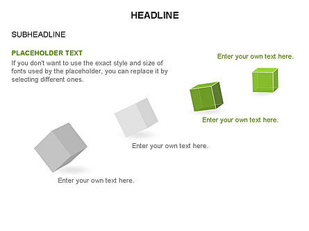 Cubes Toolbox, Slide 10, 03290, Shapes — PoweredTemplate.com
