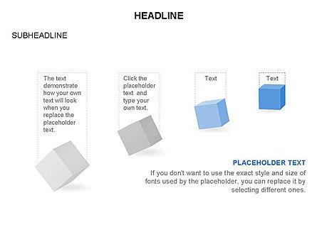 Cubes Toolbox, Slide 21, 03290, Shapes — PoweredTemplate.com