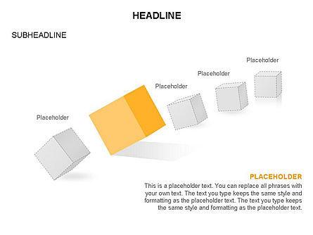 Cubes Toolbox, Slide 24, 03290, Shapes — PoweredTemplate.com