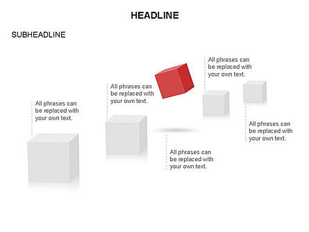 Cubes Toolbox, Slide 26, 03290, Shapes — PoweredTemplate.com