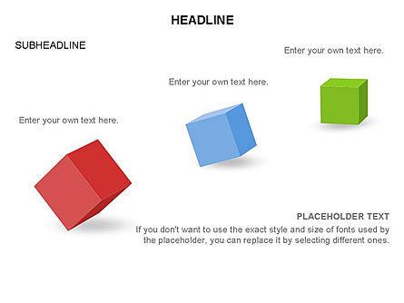 Cubes Toolbox, Slide 7, 03290, Shapes — PoweredTemplate.com
