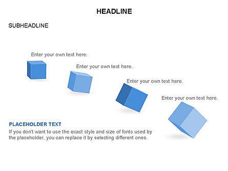 Cubes Toolbox, Slide 9, 03290, Shapes — PoweredTemplate.com