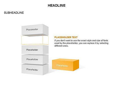 Platforms Layers and Rectangular Parallelepipeds, Slide 12, 03291, Stage Diagrams — PoweredTemplate.com