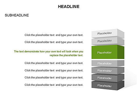 Platforms Layers and Rectangular Parallelepipeds, Slide 20, 03291, Stage Diagrams — PoweredTemplate.com