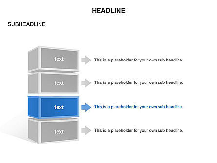 Platforms Layers and Rectangular Parallelepipeds, Slide 31, 03291, Stage Diagrams — PoweredTemplate.com
