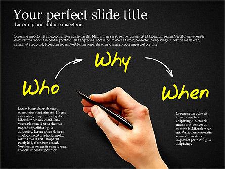 Five Ws Presentation Concept, Slide 12, 03292, Presentation Templates — PoweredTemplate.com