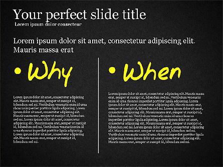 Five Ws Presentation Concept, Slide 13, 03292, Presentation Templates — PoweredTemplate.com