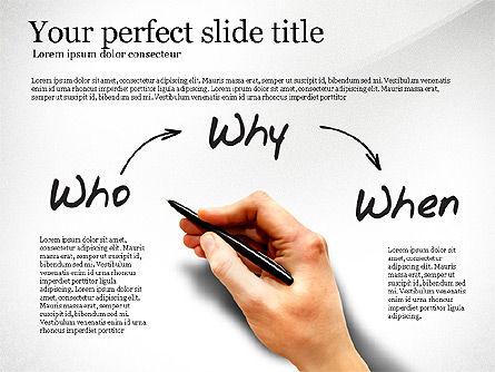 Five Ws Presentation Concept, Slide 4, 03292, Presentation Templates — PoweredTemplate.com