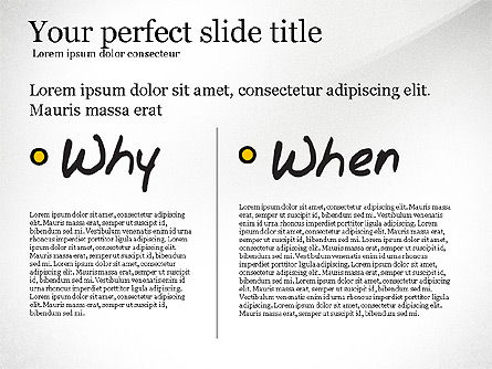 Five Ws Presentation Concept, Slide 5, 03292, Presentation Templates — PoweredTemplate.com