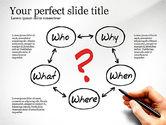 Presentation Templates: Five Ws Presentation Concept #03292