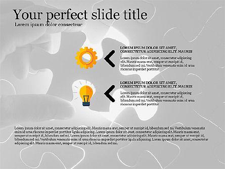 Business Presentation Concept Template, Slide 11, 03293, Presentation Templates — PoweredTemplate.com