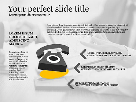 Business Presentation Concept Template, Slide 16, 03293, Presentation Templates — PoweredTemplate.com