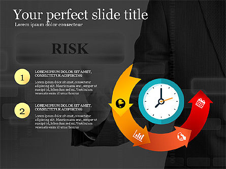 Business Presentation Concept Template, Slide 2, 03293, Presentation Templates — PoweredTemplate.com