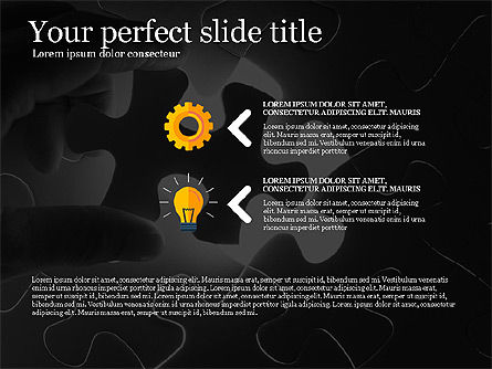 Business Presentation Concept Template, Slide 3, 03293, Presentation Templates — PoweredTemplate.com