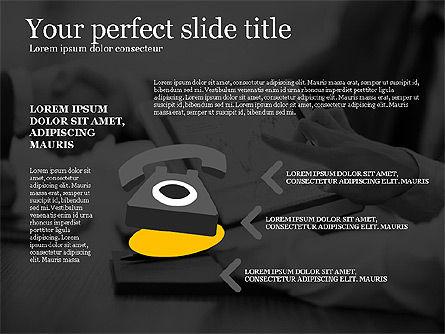 Business Presentation Concept Template, Slide 8, 03293, Presentation Templates — PoweredTemplate.com