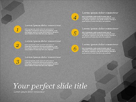 Creative Business Presentation Concept Template, Slide 15, 03294, Presentation Templates — PoweredTemplate.com