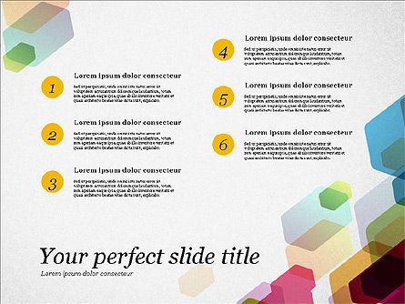 Creative Business Presentation Concept Template, Slide 7, 03294, Presentation Templates — PoweredTemplate.com