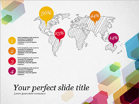 Creative Business Presentation Concept Template, Slide 8, 03294, Presentation Templates — PoweredTemplate.com