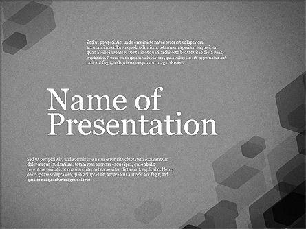 Creative Business Presentation Concept Template, Slide 9, 03294, Presentation Templates — PoweredTemplate.com