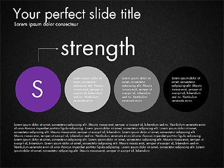Strengths Weaknesses Opportunities and Threats Presentation, Slide 10, 03295, Business Models — PoweredTemplate.com
